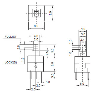 Pushbutton Switches 807-809