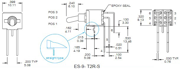 Toggle Switches ES-9