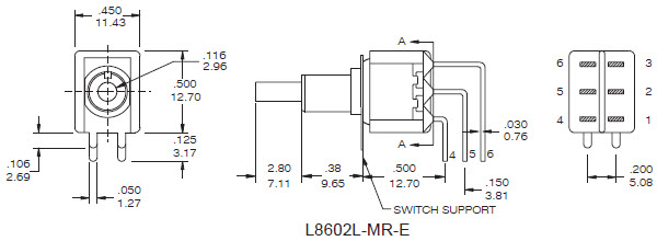 Pushbutton Switches L8602L