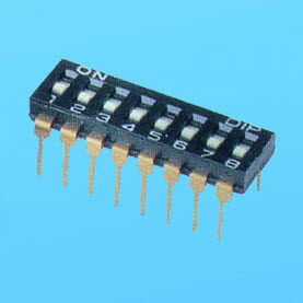 NDI,DM Machine Insertable Type Dip Switches