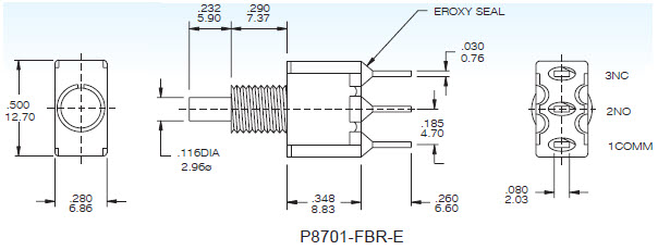 Pushbutton Switches P8701