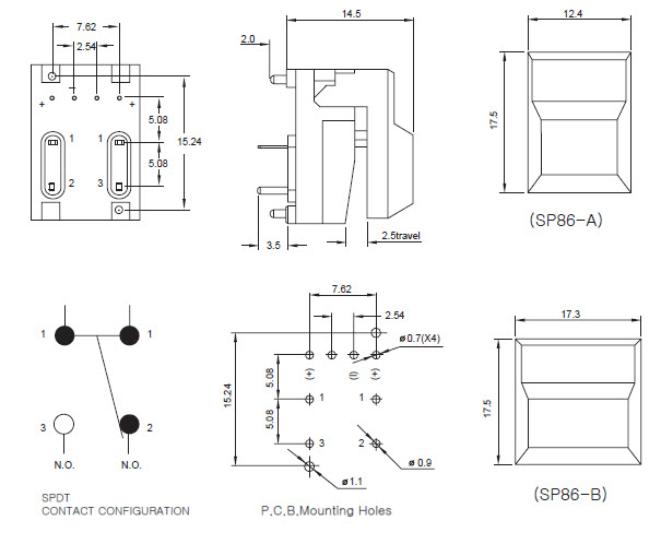 Pushbutton Switches SP86