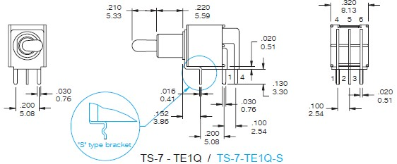 Toggle Switches TS-7