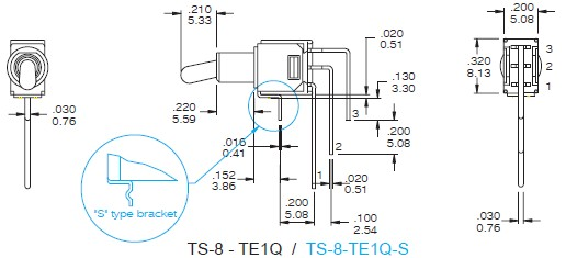 Toggle Switches TS-8
